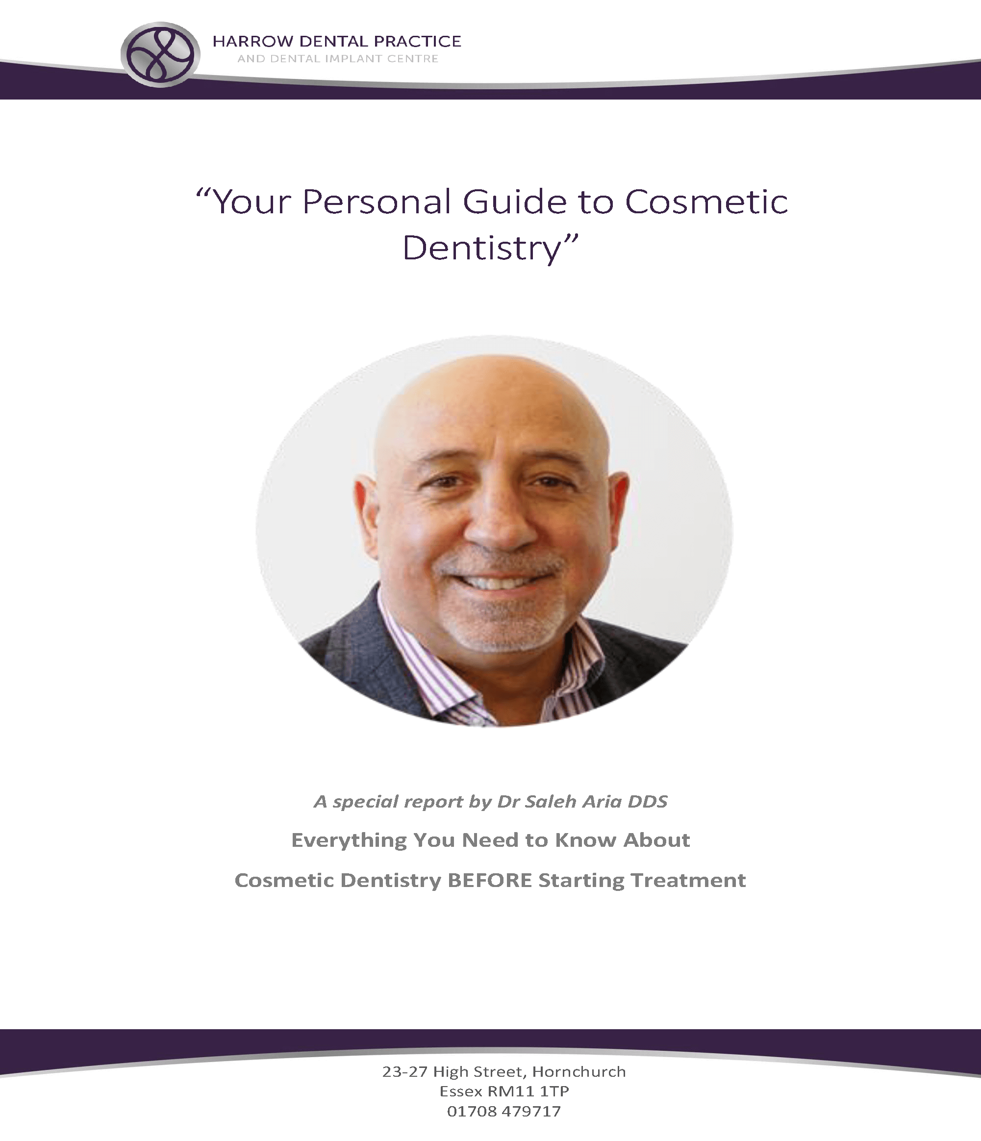 free cosmetic dentistry guide in Hornchurch