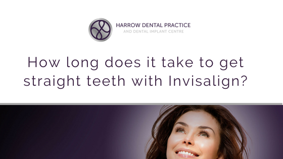 How long does it take to get straight teeth with Invisalign?