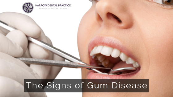 The Signs of Gum Disease